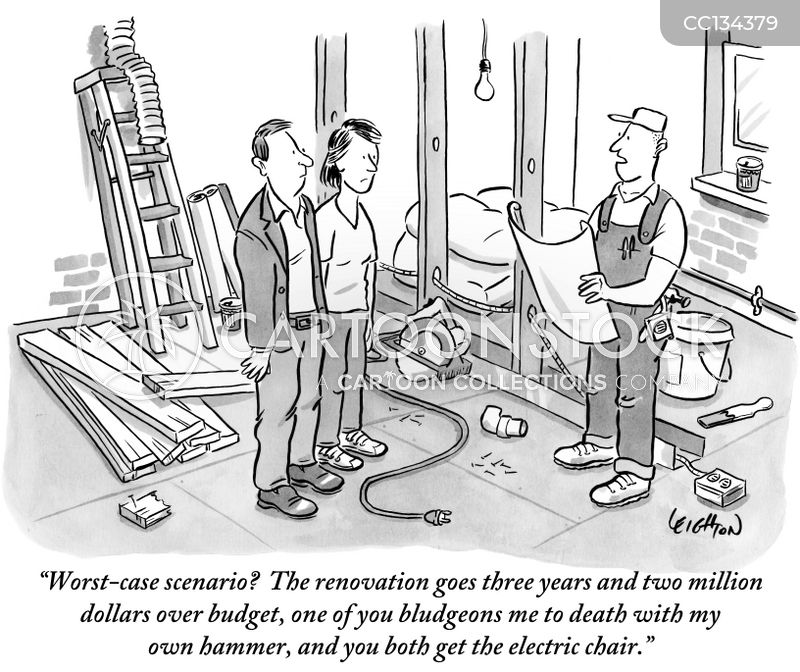 home construction cartoon