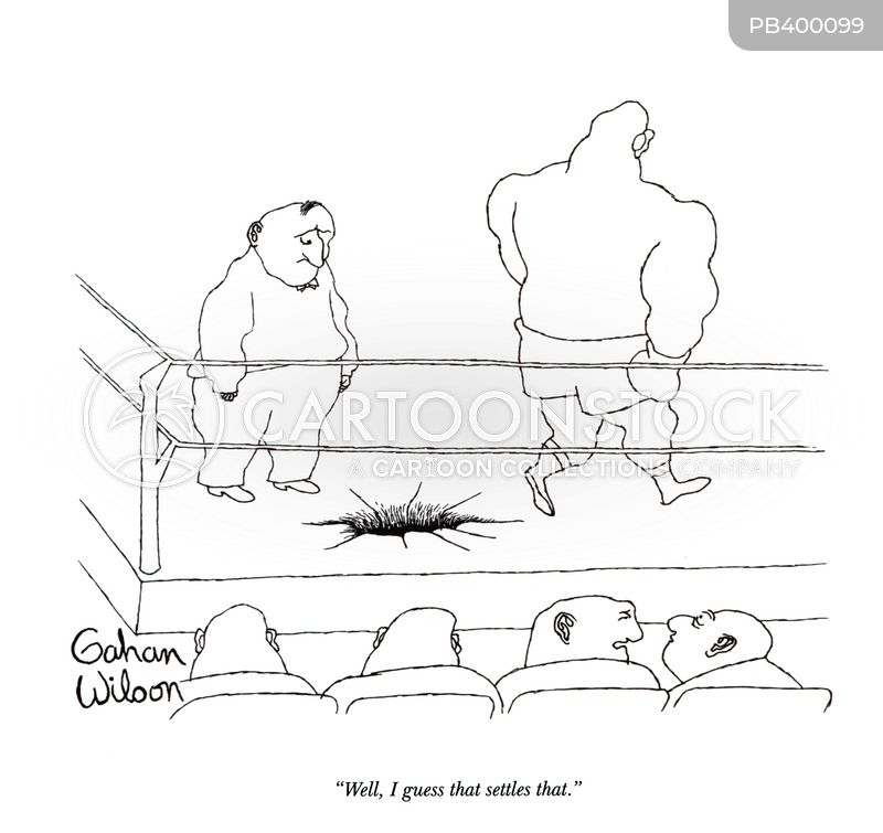 boxing glove cartoon