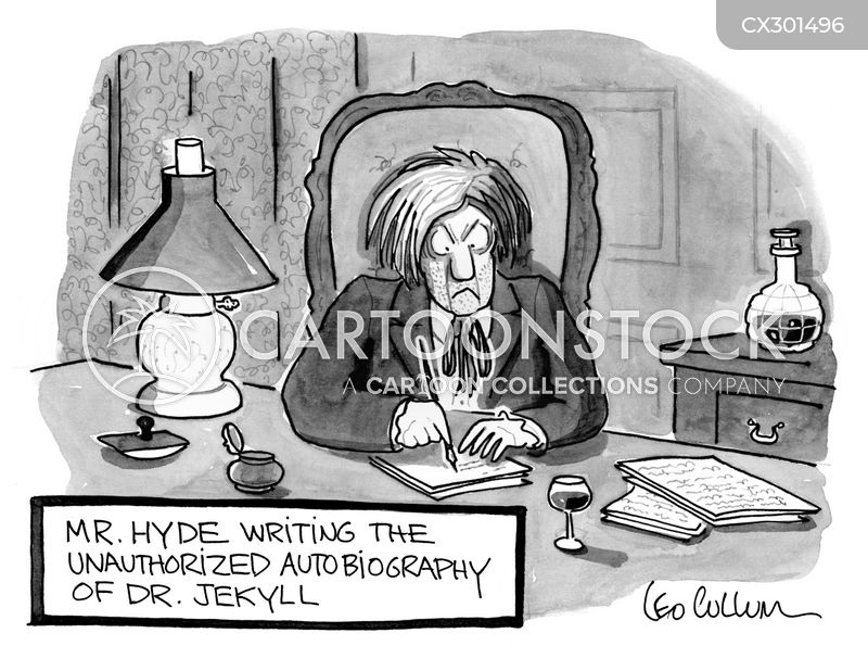 Dr. Jekyll cartoon