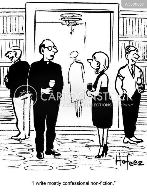 catholic priests cartoon