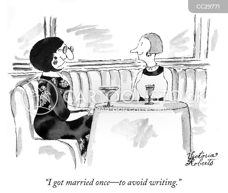married couples cartoon