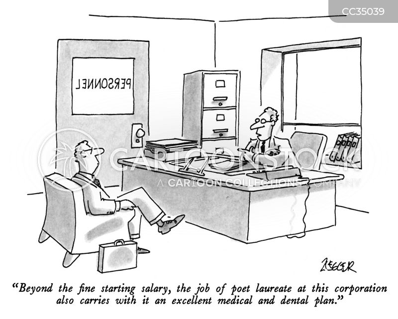 New Job Cartoons and Comics - funny pictures from CartoonStock