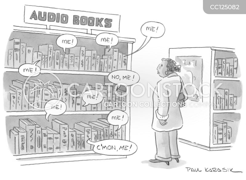 bookstore cartoon