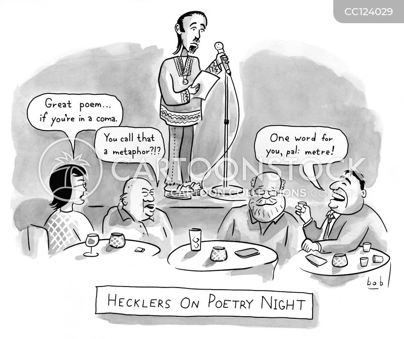 hecklers cartoon