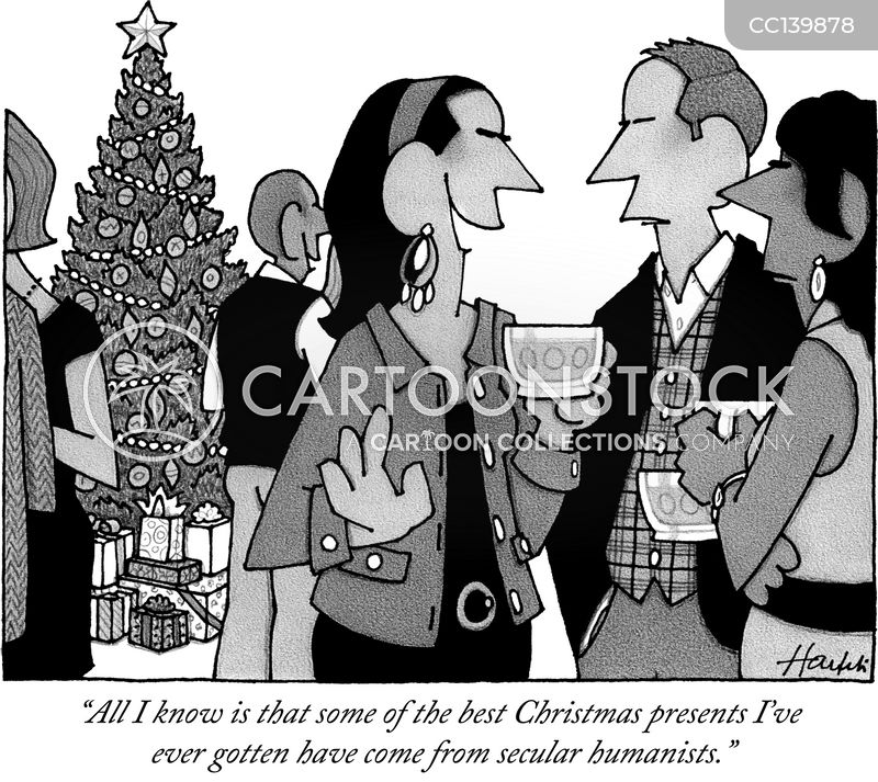 christmas tree cartoon