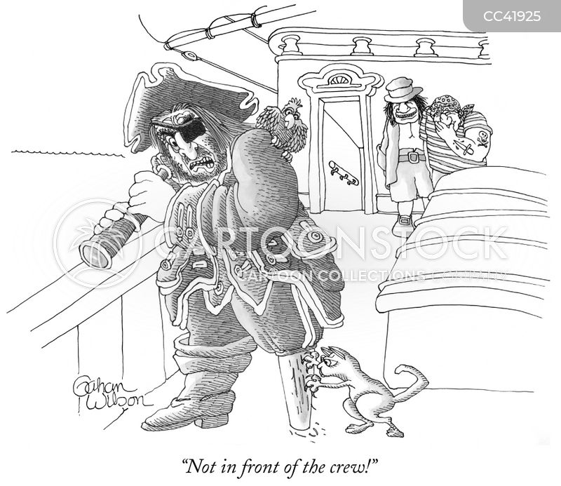 peg leg cartoon