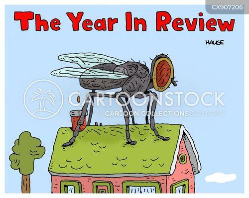 bad year cartoon