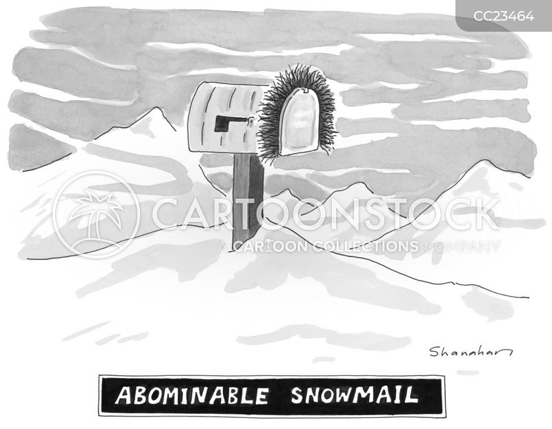 mailbox cartoon