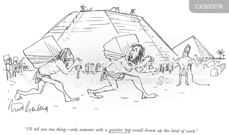 Pyramids cartoon
