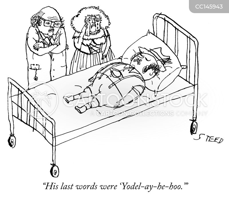 last words cartoon