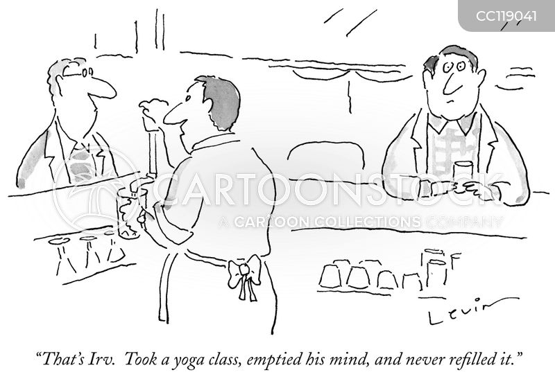 mindful cartoon