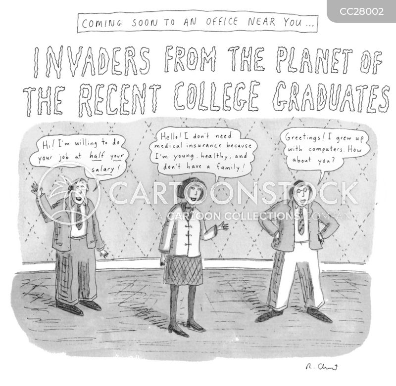 College Grads cartoon