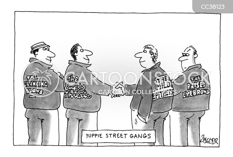 Yuppies cartoon