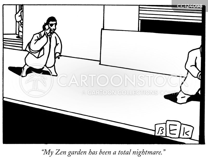 Japanese Zen cartoon