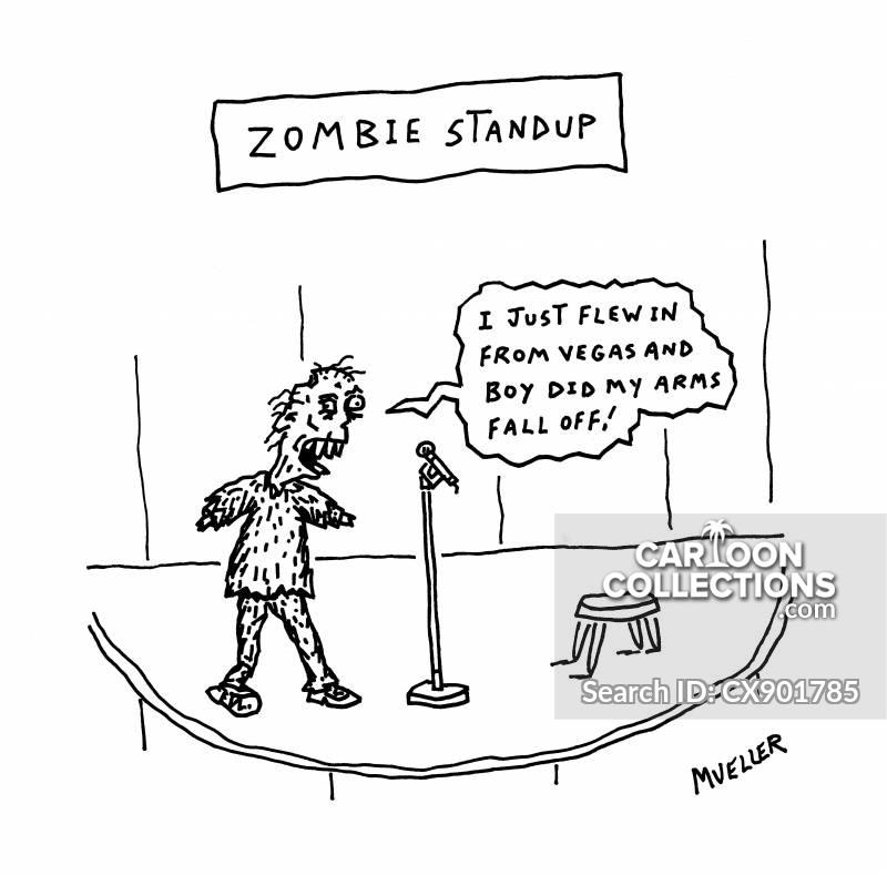 standup comedy cartoon