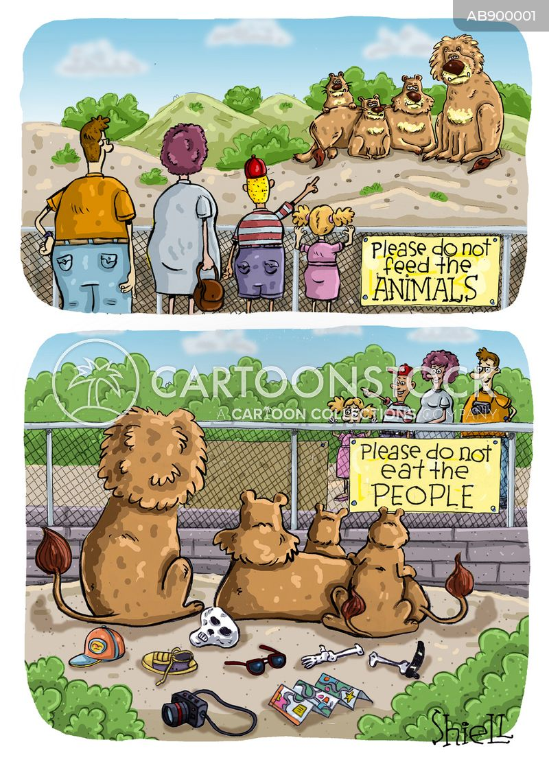 zoo keepers cartoon
